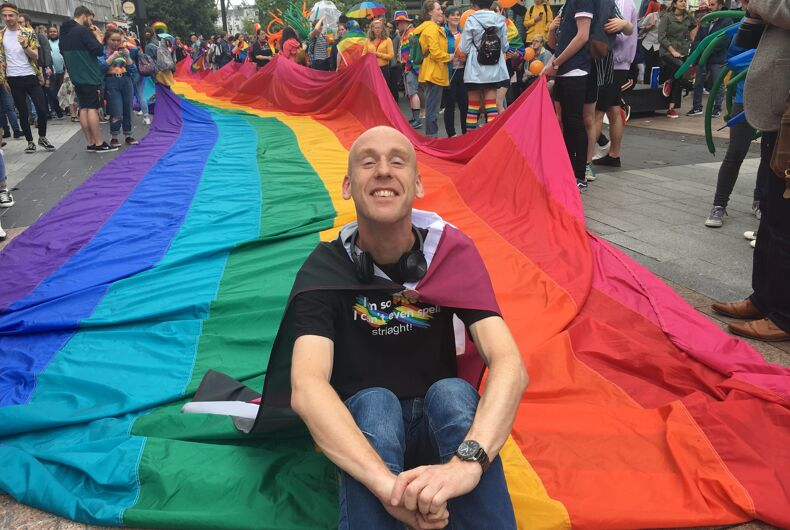 Patrick Walsh at the 1st Cork Pride Parade, April 08, 2019.