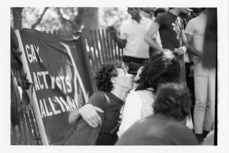 Philip Raia and Judy Bowen, 1970 Christopher Street Liberation Day