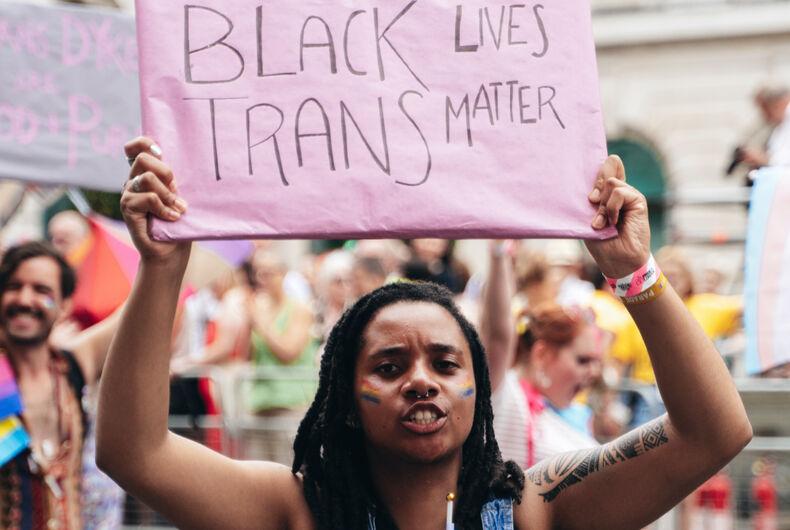 #BlackLivesMatter #TransLivesMatter