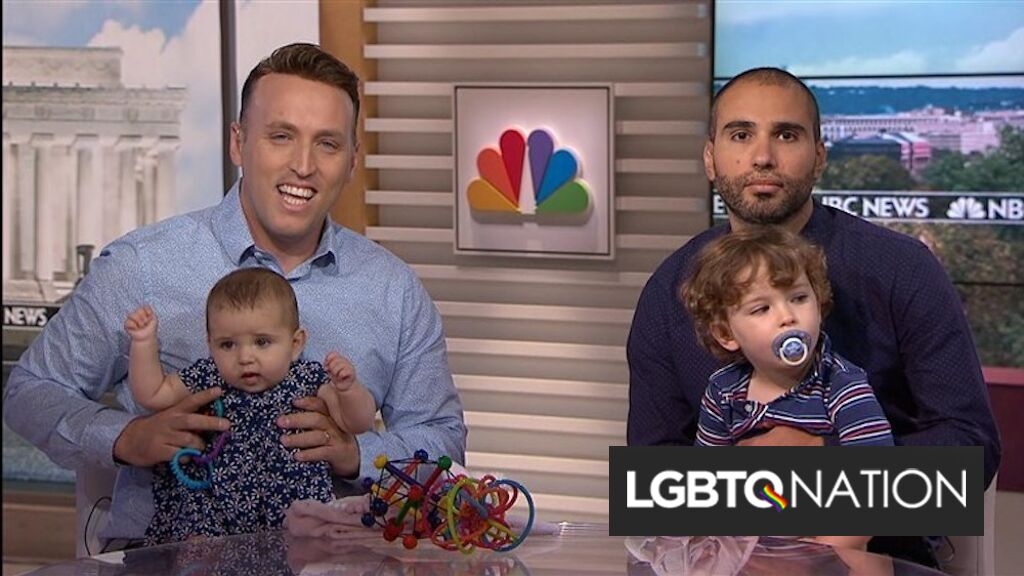 Trump administration appeals ruling that gay couple's daughter is an American citizen