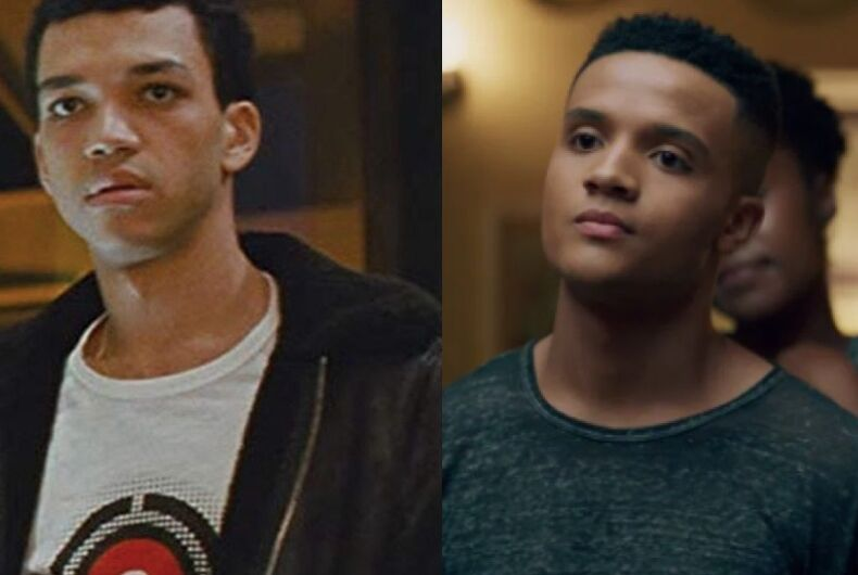 Justice Smith and Nicholas Ashe, black, queer, gay