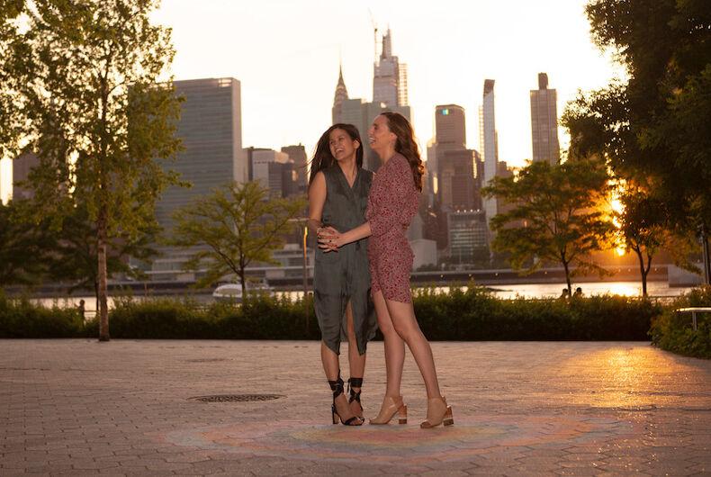 coronavirus, Lesbian marriage proposal, Lynn Trinh, New York City, TF Cornerstone, Alyssa Kayhill