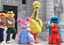 """""""Sesame Street"""" posts Pride Month message featuring rainbow-colored muppets"""