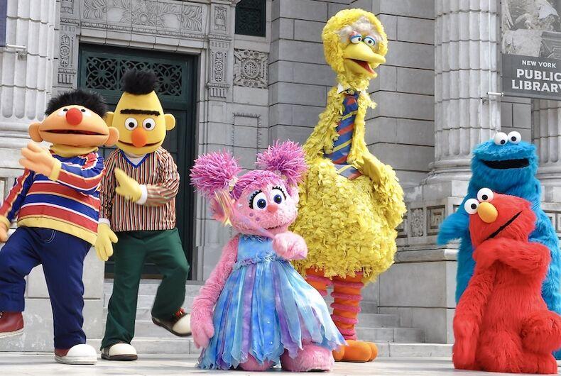 Sesame Street, Pride month, LGBTQ, gay, rainbow