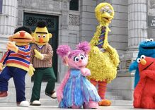 """Sesame Street"" posts Pride Month message featuring rainbow-colored muppets"