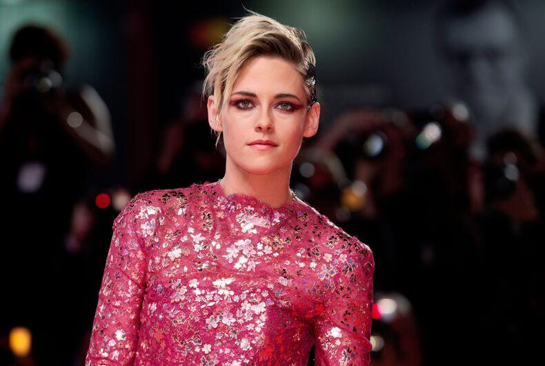 Kristen Stewart attends the premiere of the movie