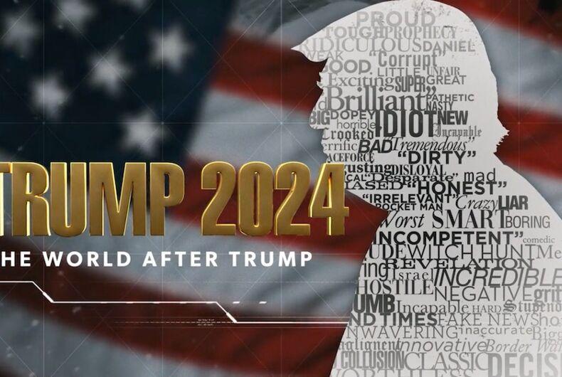 Trump 2024: The World After Trump, anti-LGBTQ, movie, documentary