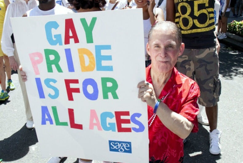 Here's why ageism takes an especially heavy toll on LGBTQ seniors