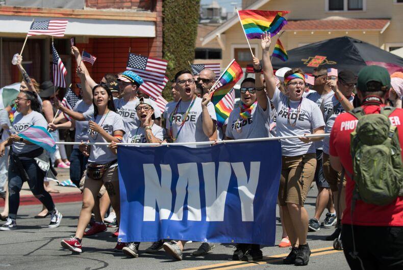 San Diego (CA) Pride parade July 15, 2017