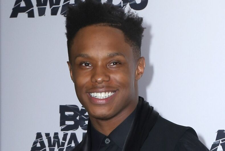 Avery Wilson at the 2015 BET Awards