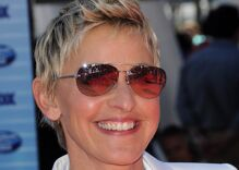 Ellen is taking heat on social media over a mediocre joke because it's 2020