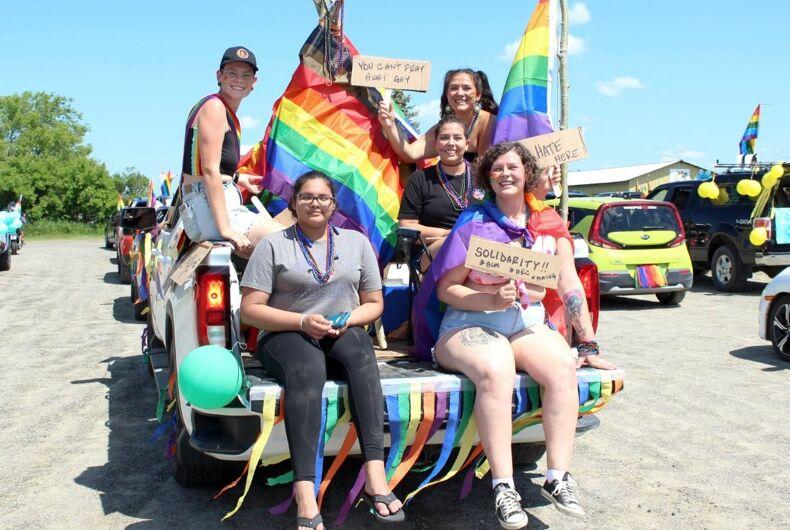 Revellers at Emo Pride this weekend