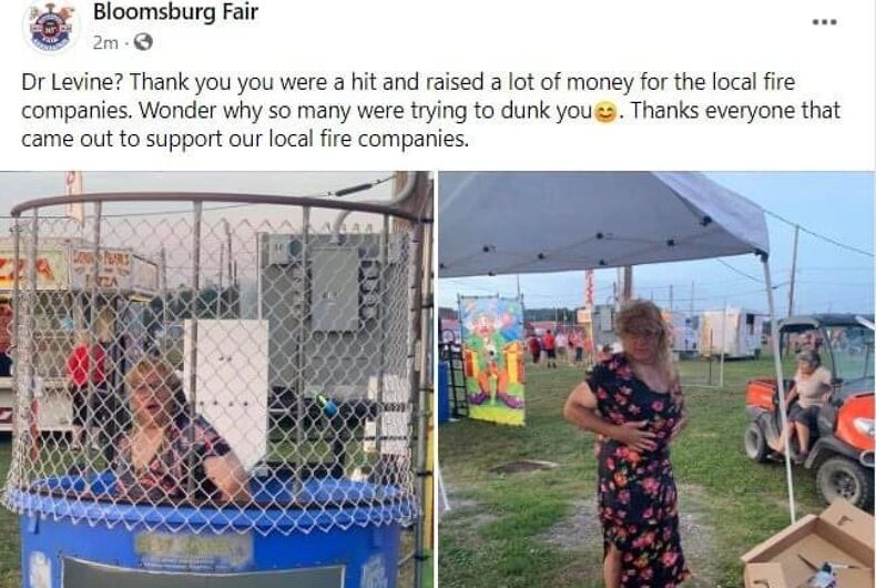 The Bloomsberg Fair Facebook post