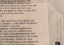 Angry letter denounces DC resident for posting both Pride & BLM signs