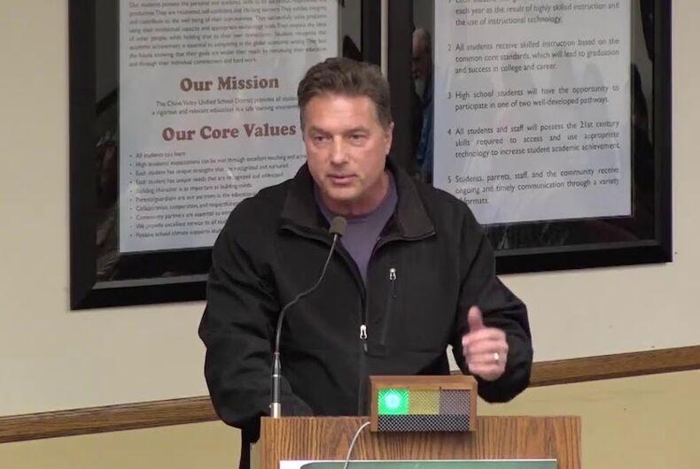 Mark Cargile, racist, Republican, GOP, California, anti-LGBTQ