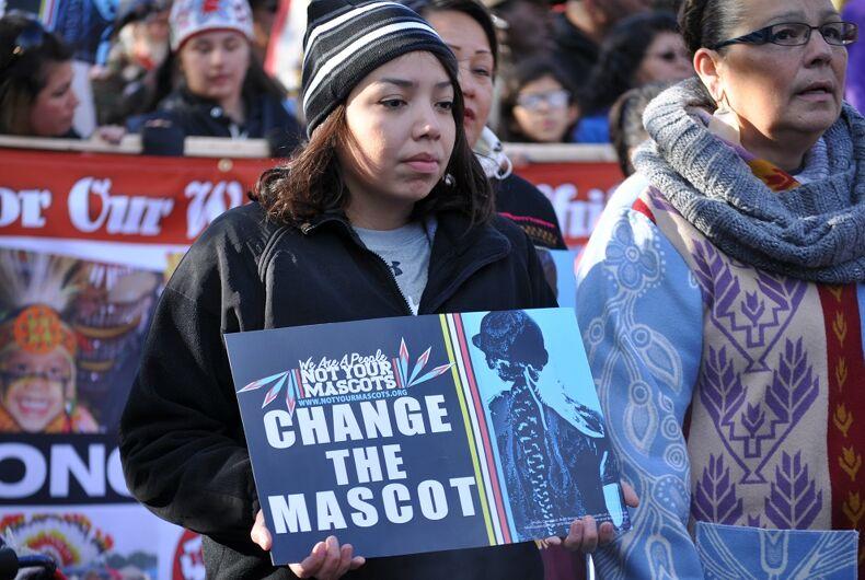 Protestors at a November 2, 2014 Minneapolis demonstration.