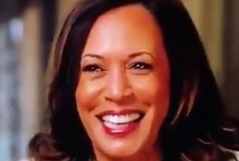 Vice presidential nominee Kamala Harris