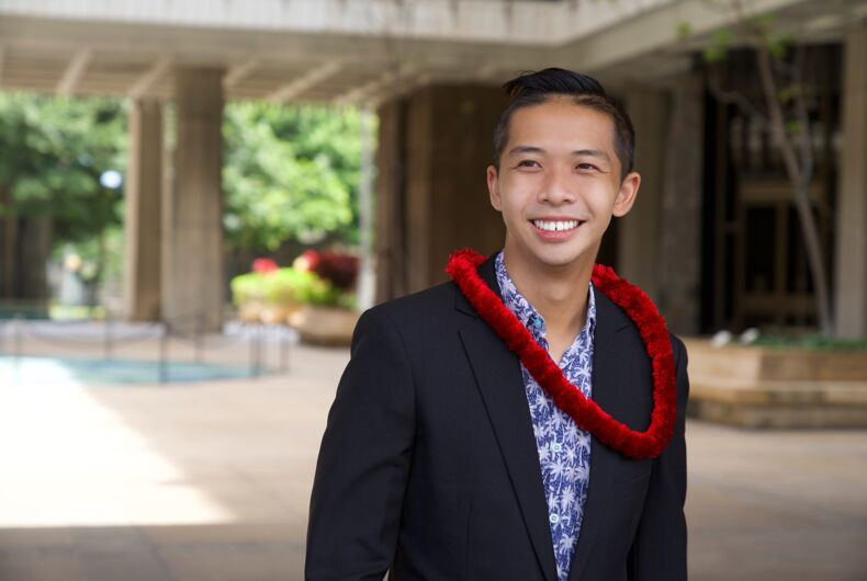 Adrian Tam defeated a neo-Nazi to become Hawaii's only out LGBTQ representative