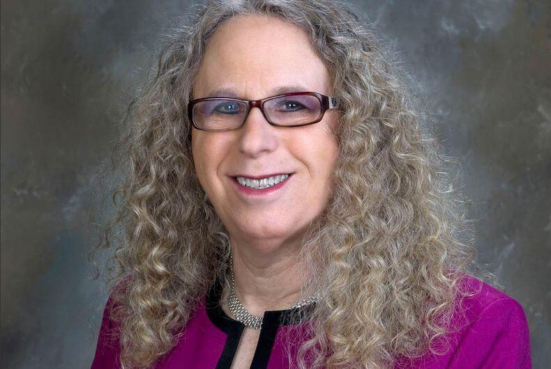 Pennsylvania Secretary of Health, Dr. Rachel Levine
