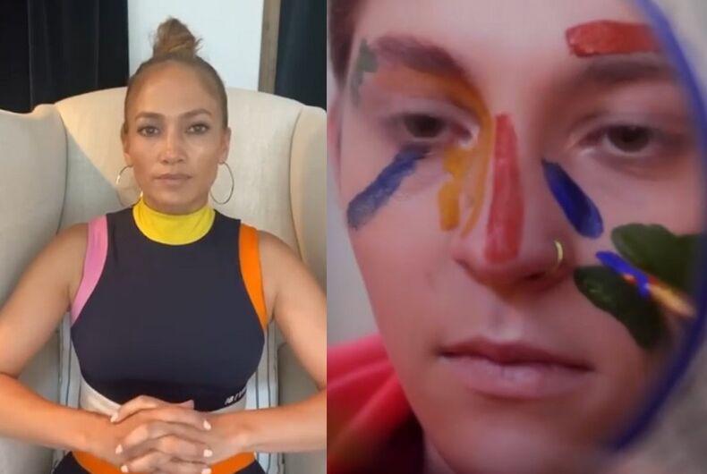 Jennifer Lopez and Brendon