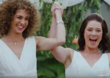 Christian conservatives are enraged over a lesbian wedding in an upcoming movie