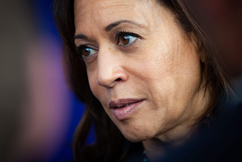April 24, 2019: Democratic 2020 U.S. presidential candidate Kamala Harris campaigns in New Hampshire.