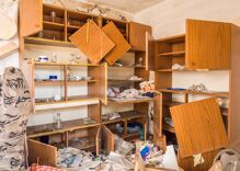 A group of teens trashed & looted a gay couple's home as they threatened the men's lives