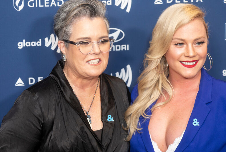 May 4, 2019: Rosie O'Donnell and Elizabeth Rooney attend the 30th Annual GLAAD Media Awards at New York Hilton Midtown