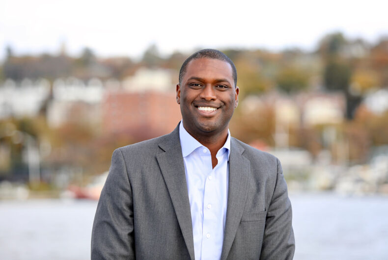 Sleepy Hollow, New York / United States - November 2nd, 2019: Mondaire Jones for Congress