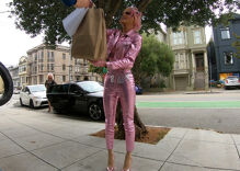 These drag queens pound the pavement to serve entertainment and food at your doorstep