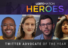 Who uses Twitter best when talking about LGBTQ issues?