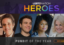 These pundits have represented the queer community in mainstream media. Which one did it best?