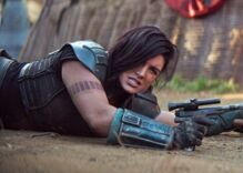 Gina Carano booted from Star Wars series as her talent agency cuts ties over social media posts