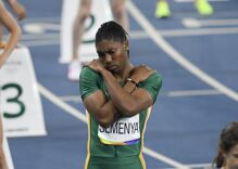 Gold medal Olympian Caster Semenya blocked from defending medal unless she takes hormones