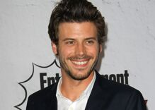 Actor Francois Arnaud just came out as bisexual