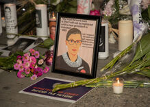 Christian extremists are celebrating Ruth Bader Ginsburg's death