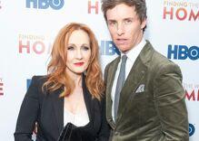 "Eddie Redmayne stands up for J.K. Rowling against internet ""vitriol"""