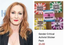 J.K. Rowling plugs disgusting anti-trans online store to her 14 million Twitter followers