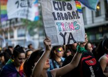 Argentina sets aside 1% of jobs for transgender people