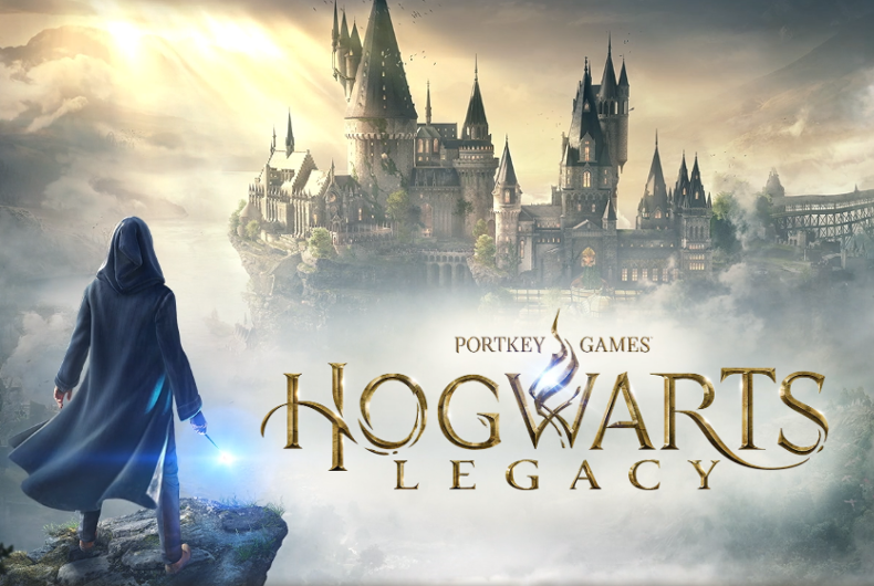 The upcoming Hogwarts Legacy video game, based on J.K. Rowling's Wizarding World franchise.