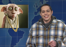 Pete Davidson tears into J.K. Rowling on SNL with Mel Gibson comparisons