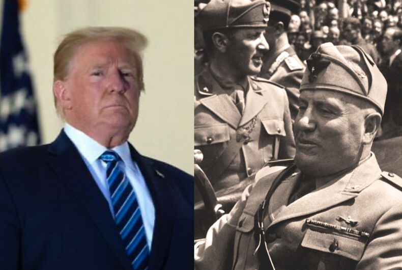 Trumps War on the Press Follows the Mussolini and Hitler