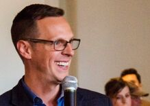 Gay congressional candidate Jon Hoadley is facing the most disgustingly homophobic race in years