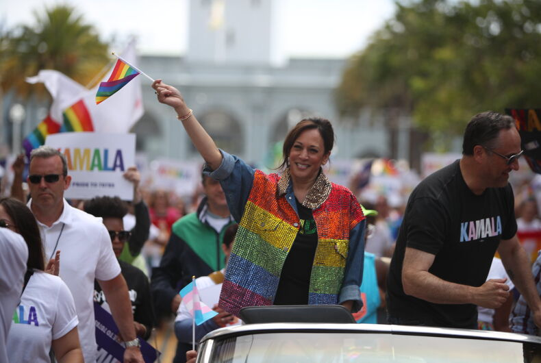 Senator Kamala Harris at the 2019 San Francisco Pride Parade