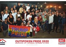 LGBTQ Trump supporters held a big boozy gathering to plot election strategy. No one wore masks.