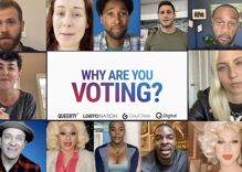 Here's why 47 of your favorite out celebrities are voting this year & you should too