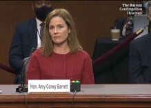 With just two words, Amy Coney Barrett revealed how biased she is against LGBTQ people