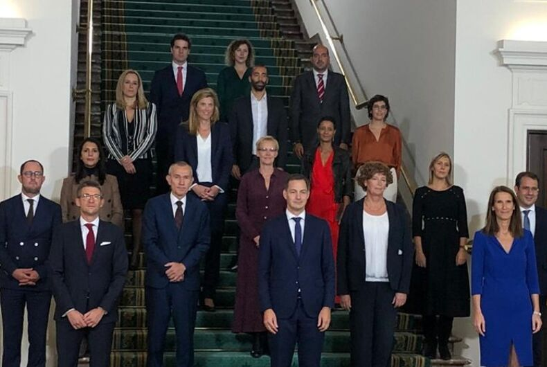 The new Belgian government
