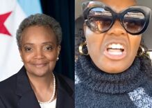 """Chicago mayor Lori Lightfoot is a """"disgusting, homosexual demon"""" according to Black Trump supporter"""