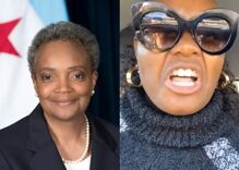 "Chicago mayor Lori Lightfoot is a ""disgusting, homosexual demon"" according to Black Trump supporter"